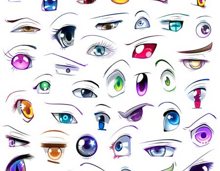 Collection Of Anime And Manga Eyes Tutorials And More ...