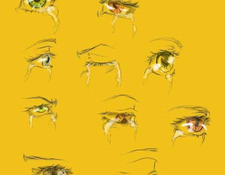 Crying Eyes Reference Sheet