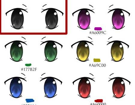 Anime Eye Brush Set
