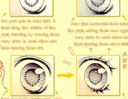Shoujo Eyes Tutorial