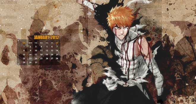 Bleach Calendar Wallpaper