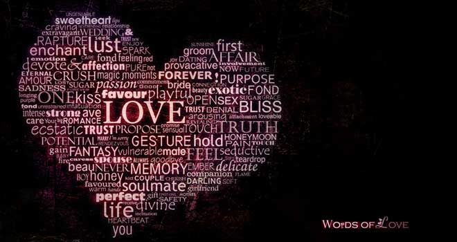 Words Of Love Wallpaper Pack by Alice vel. Hazel
