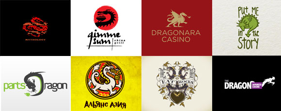 15 Impressive Dragon-Inspired Logos