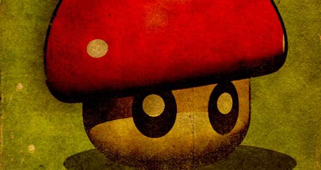 Super Vintage Mushroom, Design91