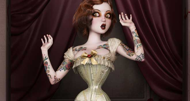 Twisted Dolls: The Butcher´s Bride, Rebeca Puebla