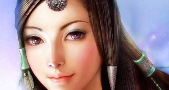 Fairy Character Portrait
