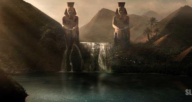 Pyramids City: Matte Painting, Slim Larnaout