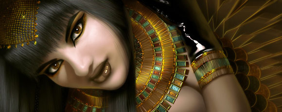 25 Fascinating Egyptian-Inspired Digital Artworks