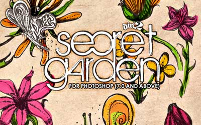Secret Garden Brushes