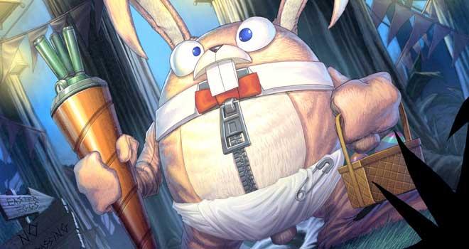 Easter Bunny Diaper Version, Vince Chui