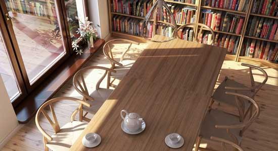Dining Room by Maciek Mackiewicz