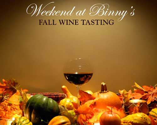 Binny's Fall Wine Tasting Advertisement by Molly Smith