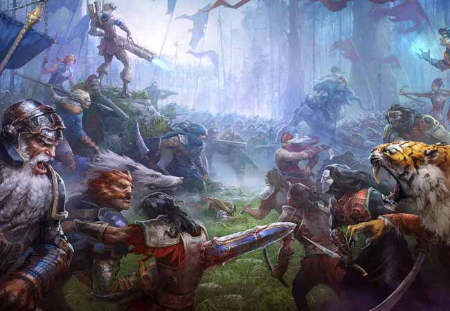 20 awesome fantasy battle scenes artworks ninja crunch