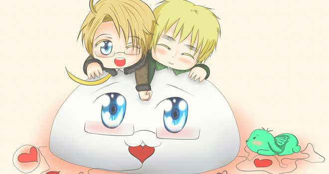 Axis Powers Hetalia: Love Is In The Air by Mormoka