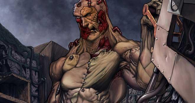Frankenstein by Juan Nitrox Marquez