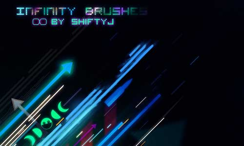 17 Infinity Brush Set by ShiftyJ