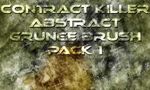 8 Abstract Grunge Brush Pack by Federico Rodriguez