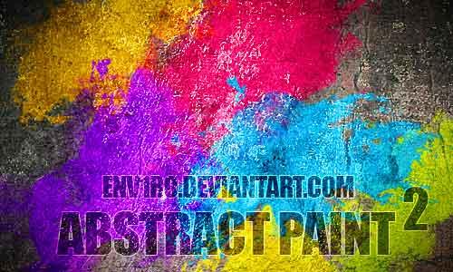 10 Abstract Paint by Przemyslaw Szczepanski