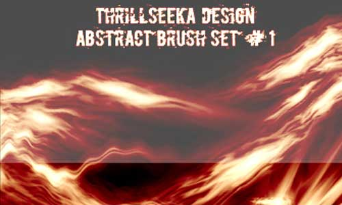 8 Abstract Brush Set by Thrillseeka