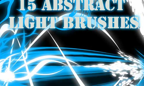 15 Abstract Light Brushes by Bela Rebeli