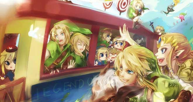 25 years Legend of Zelda by Miyukiko