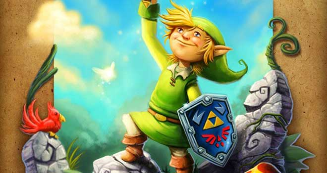 The Legend of Zelda 25th Anniversary by Ryan Bowlin