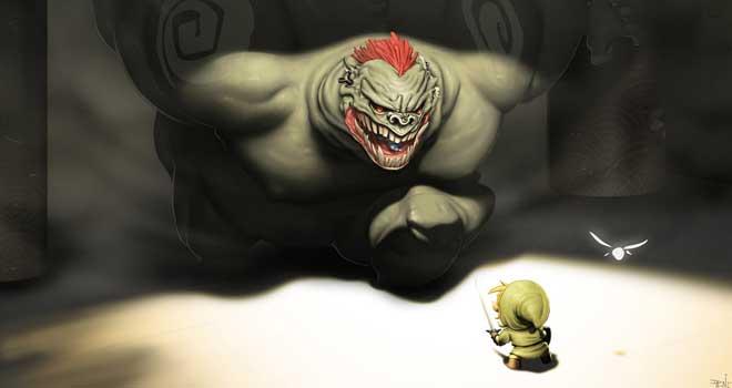 Ganon Likes Link by Otoritopoit