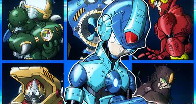 Megaman Select by Chris Imber and Chris Jenkins