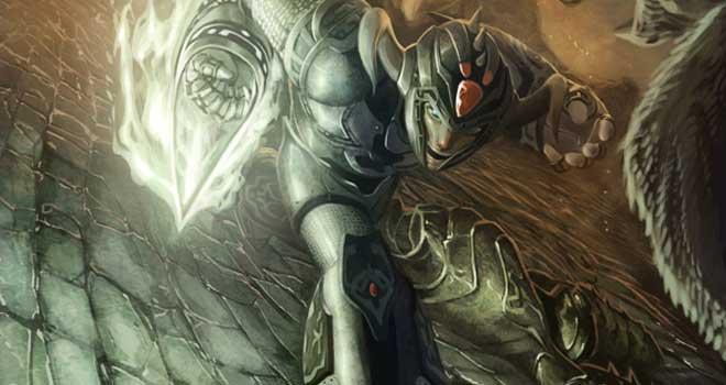 Medieval Megaman by Jon Bosco