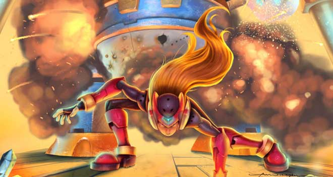 Megaman Zero Vs Poler Kamrous by Pappy Onwuagbu