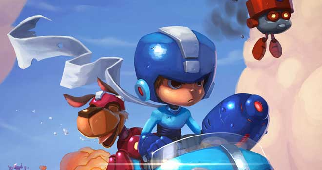 Megaman Tribute by Mark Hansen