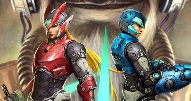 Megaman Tribute Piece by Tan Guang Yu