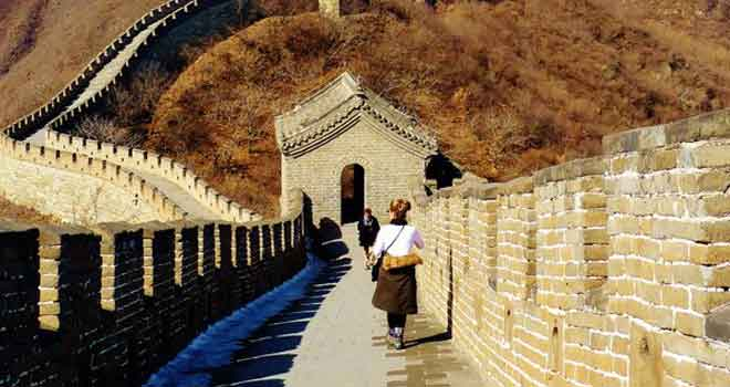 Mutianyu Great Wall of China by Brian Doyle