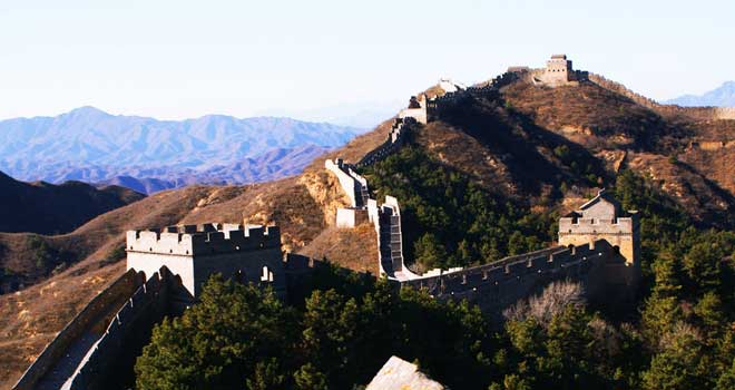 The Great Wall of China by Sheila Gomez