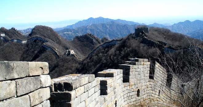 The Great Wall of China by Yapi Santiago