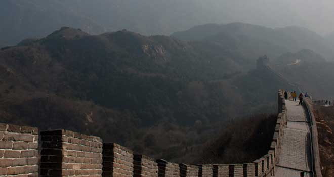 Great Wall Of China by Shiro Ang Yeong Hui