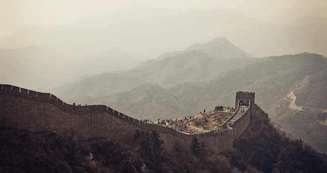 Great Wall Of China by Tricia Gosingtian