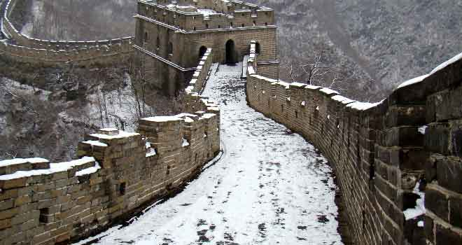 Great Wall at Mu Tian Yu by Alex Matvey Pesegoff