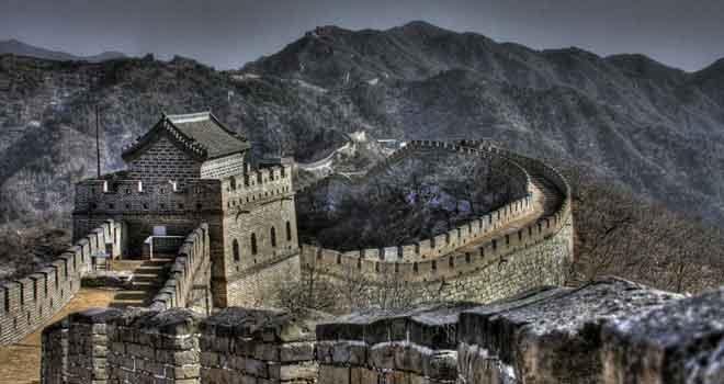 Great Wall Of China by Katie Ann