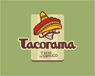 Tacorama Mexican restaurant by Artem Dvorzhak