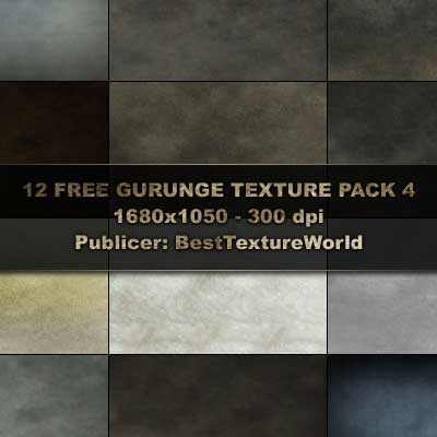 12 High Res Grunge Texture Pack by Haziran