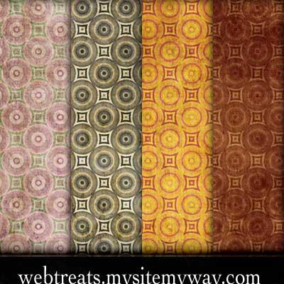 Grunge Wallpaper Pattern by WebTreatsETC