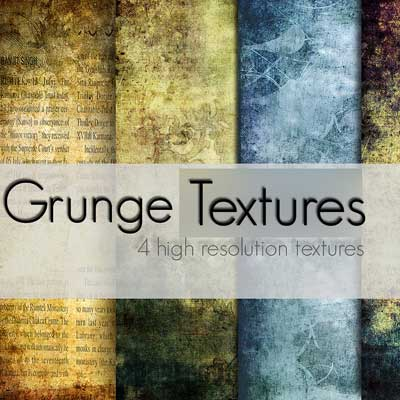 4 Grunge Textures by Andreea Bianca