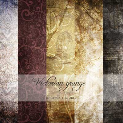 Victorian Grunge Texture Pack by Ana Fagarazzi