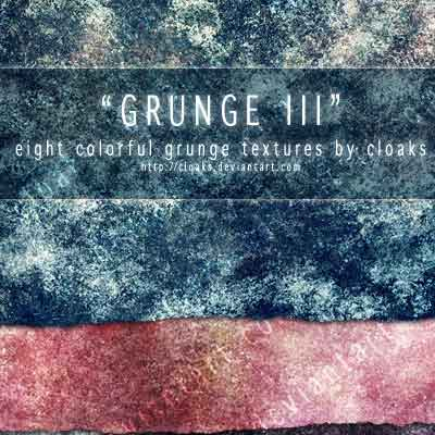 8 Grunge Texture Pack by Michelle Bretland