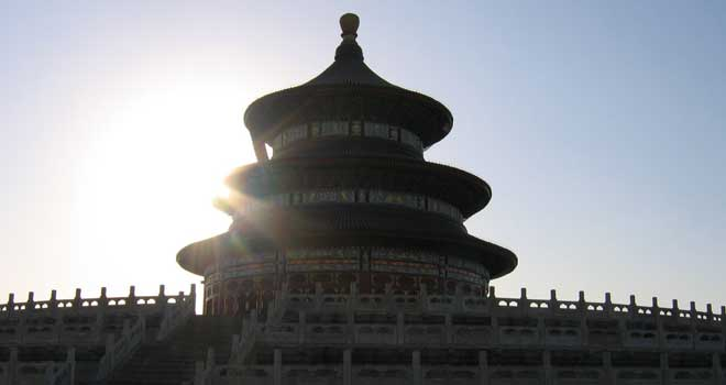 Temple of Heaven, Beijing by worm-food