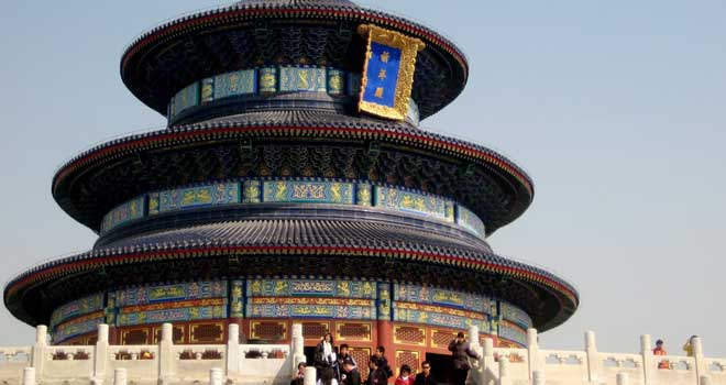 Temple Of Heaven by Kevin Baldwin