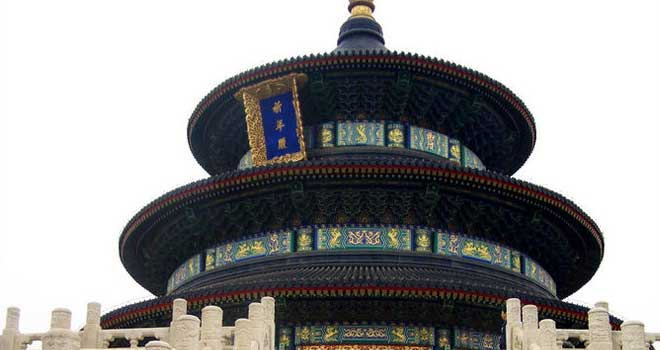 China - Temple of Heaven by Lance Lucas