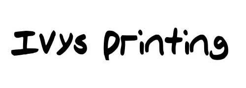 Ivys Printing by Ivy