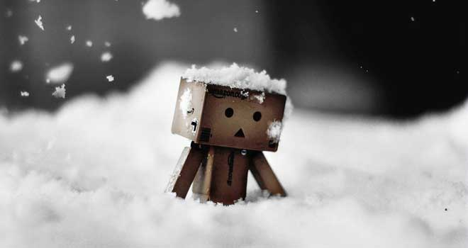 Danbo Trudges To Work by James Green